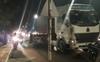 Container cán chết người trong làn xe máy ở Bình Dương