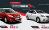 Nissan công bố giá xe 2018: X-Trail, Sunny giảm sâu