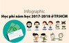 Học phí năm học 2017-2018 tại TP.HCM