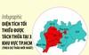 Diện tích tối thiểu được tách thửa ở 3 khu vực TP.HCM