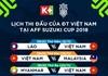 K+ phát sóng toàn bộ giải đấu AFF Suzuki Cup 2018