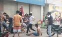 Hai người bán trà sữa trên vỉa hè bị đánh dã man