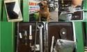 2 chú chó rượt tên trộm chạy té khói, rơi cả đồ nghề