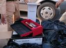 114 chai rượu ngoại 'dỏm' bị cảnh sát phát hiện