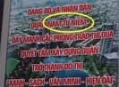 Hà Nội: Khẩu hiệu viết sai tên quận thành 'Nam Từ Niêm'