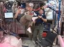 Trạm không gian ISS cũng khai mạc World Cup