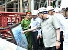 Thủ tướng thị sát dự án trọng điểm của Chính phủ