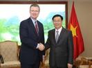 Phó Thủ tướng Vương Đình Huệ tiếp đại sứ Hoa Kỳ và Brazil