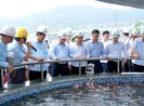 Thủ tướng Nguyễn Xuân Phúc thị sát dự án Formosa Hà Tĩnh