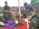 Cất bốc 33 bộ hài cốt liệt sĩ tại Quảng Trị