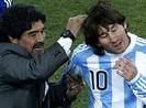 Maradona xúc phạm chê Messi nhát như thỏ