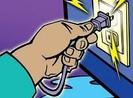 Sửa điện bị điện giật tử vong
