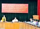 Đoàn kiểm tra trung ương làm việc với Thành ủy TP.HCM