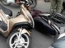 Xe máy đấu đầu ở Gò Vấp, 2 người trọng thương