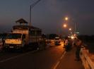 Long An cấm xe tải qua cầu Tân An vào giờ cao điểm