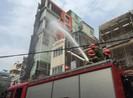 Cháy quán karaoke nổi tiếng ở Hải Phòng