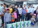 Vinamilk chung tay hỗ trợ người dân Hà Tĩnh, Quảng Bình