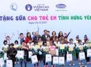 Quỹ Sữa vươn cao Việt Nam đến với trẻ em Hưng Yên