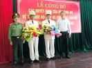 2 lãnh đạo PCCC được bổ nhiệm làm phó giám đốc Công an Đà Nẵng