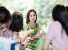 Hà Phương-vợ tỉ phú Chính Chu ra mắt sách tại Việt Nam