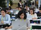 Hàng ngàn nhà báo miệt mài tác nghiệp tại APEC
