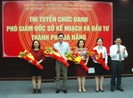 Đà Nẵng chính thức thi tuyển 2 phó giám đốc Sở KH&ĐT