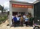 Hội Cựu chiến binh Sở Tư pháp TP.HCM trao nhà tình thương