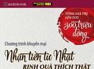 Agribank: Nhận tiền từ Nhật - Rinh quà thích thật