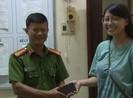 Trao trả tài sản cho Việt kiều Mỹ bỏ quên tại Huế