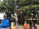 1 công nhân điện lực ở Huế tử vong khi đang sửa điện