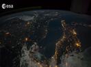Hình ảnh trái đất được quay từ ISS
