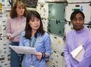 Bốn nữ phi hành gia hội ngộ trên Trạm không gian