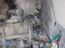 Hai cha con ngủ dậy mới biết nhà mình vừa... bị cháy