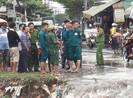 Quận Bình Tân: Nam thanh niên bị nước lớn cuốn mất tích