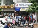 Cướp ngân hàng táo tợn ở quận Bình Thạnh, TP.HCM