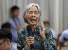 Chủ tịch Nguyễn Thành Phong đang tiếp 30 hộ dân Thủ Thiêm