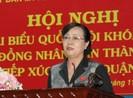 Bà Quyết Tâm nói về sai phạm của một số cán bộ ở TP.HCM