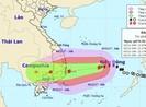 Học sinh tỉnh Bình Thuận nghỉ học tránh bão