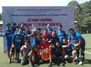 Sôi động giải bóng đá mừng ngày thành lập ngành thanh tra