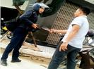 1 PV bị đánh, dọa giết khi đang tác nghiệp ở Bình Định