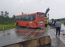 Thêm vụ tai nạn do ổ gà trên quốc lộ 1 đoạn qua Phú Yên