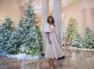 Bà Trump 'phù phép' Nhà Trắng lung linh đón Giáng sinh