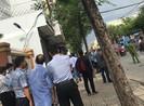 TP.HCM: Nổ tại trụ sở Công an phường 12, quận Tân Bình