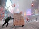 Quảng trường Thời đại, New York đón năm mới lạnh kỷ lục