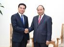 Thủ tướng Nguyễn Xuân Phúc tiếp chủ nhiệm VP Chính phủ Lào
