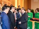 Thủ tướng gặp gỡ 100 doanh nghiệp 'Thương hiệu quốc gia'