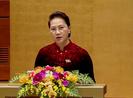 Chủ tịch Quốc hội phát biểu bế mạc kỳ họp thứ 6
