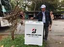 Thùng rác biết nói 'cảm ơn' trên đường phố Huế