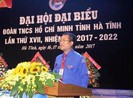 Ông Nguyễn Thế Hoàn tái đắc cử Bí thư Tỉnh đoàn Hà Tĩnh