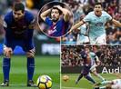 Barca bị đối thủ kỵ rơ làm khổ, Real cũng không thắng